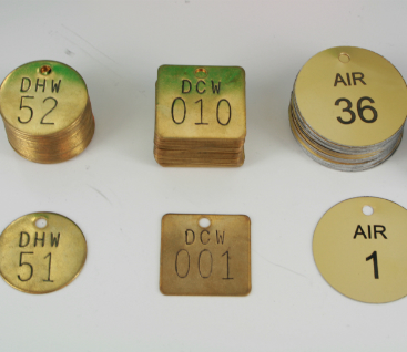 Valve Identification Tags