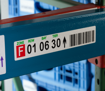 Warehouse Location & Weight Capacity Labels