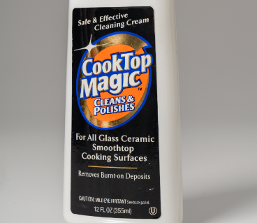 Magic Cooktop Product with Bright Graphics Label