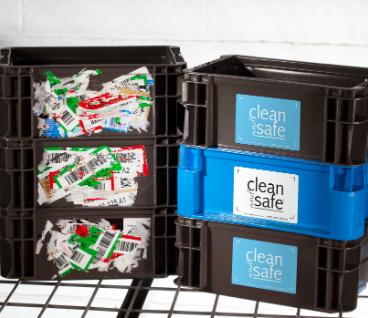 Clean & Safe Placard Label Holder