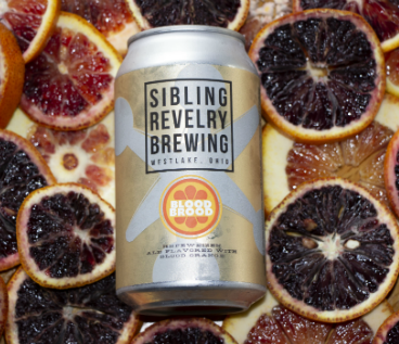 A Metalized Beer Label on Sibling Revelry Can